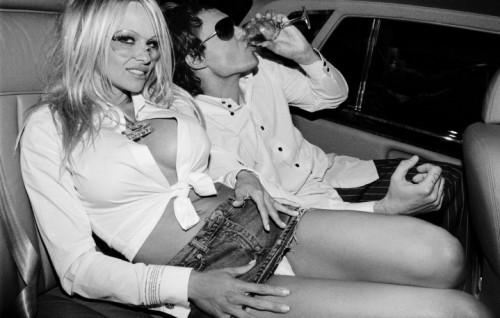 Pamela Anderson e David LaChapelle - Foto di Roxanne Lowit