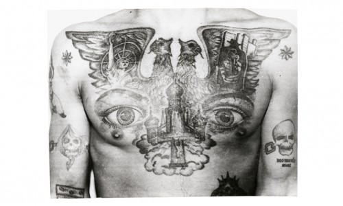 Russian Criminal Tattoo, tatuaggi, ink, prigionieri russi, tatuaggi di criminali russi, FUEL Publishing, Arkady Bronnikov, foto, libro, gallery