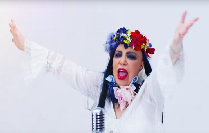 """Un frammento del nuovo video di Loredana Bertè, """"È andata così"""""""