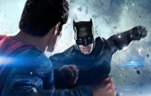 """Un'immagine promozionale di """"Batman VS Superman"""""""
