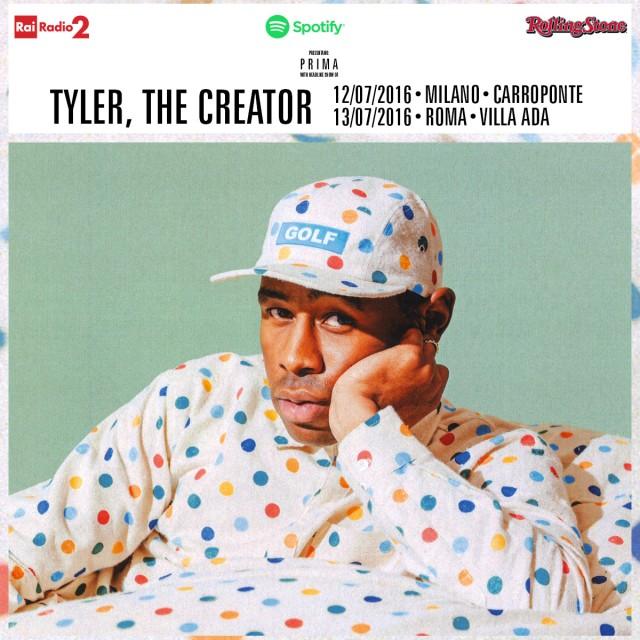 Tyler, the Creator suonerà in Italia il 12 e 13 luglio