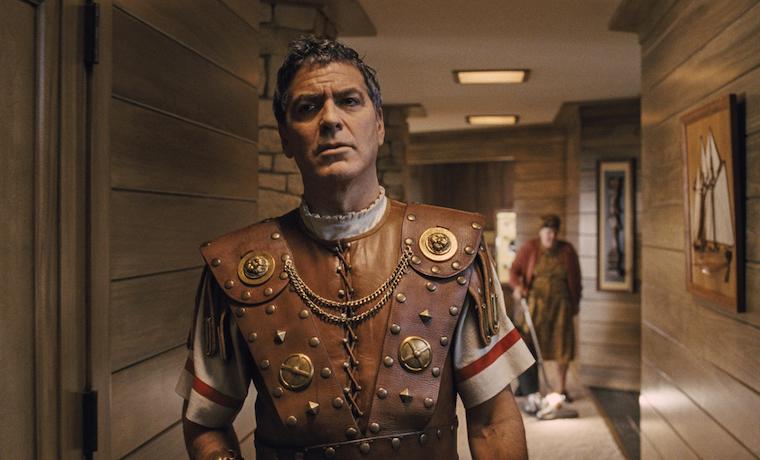 """George Clooney nel film """"Ave, Cesare!"""" dei Fratelli Coen"""