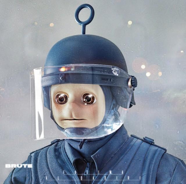 La copertina di Brute
