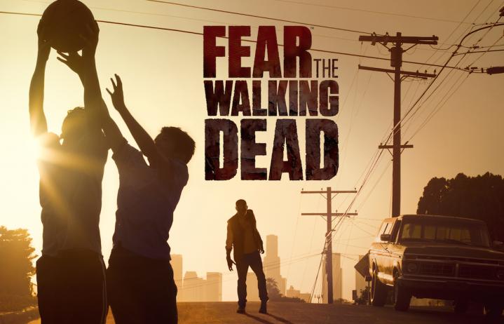 """La locandina di """"Fear the Walking Dead"""", in arrivo ufficialmente su Paramount Channel a partire dal 17 marzo"""
