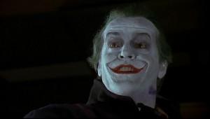 Il famoso Joker di Jack NIcholson, firmato Tim Burton