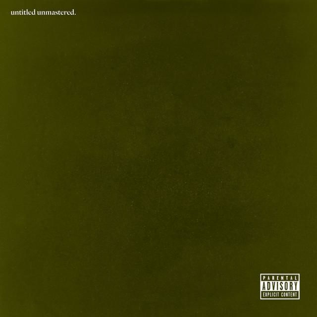 "La copertina di ""untitled unmastered"" di Kendrick Lamar"