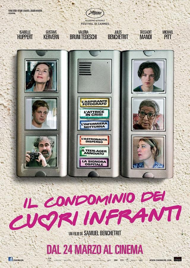 """La locandina di """"Il condominio dei cuori infranti"""", dal 24 marzo al cinema"""