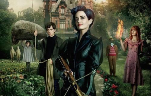 """La prima locandina di """"Miss Peregrine"""", il nuovo film di Tim Burton"""