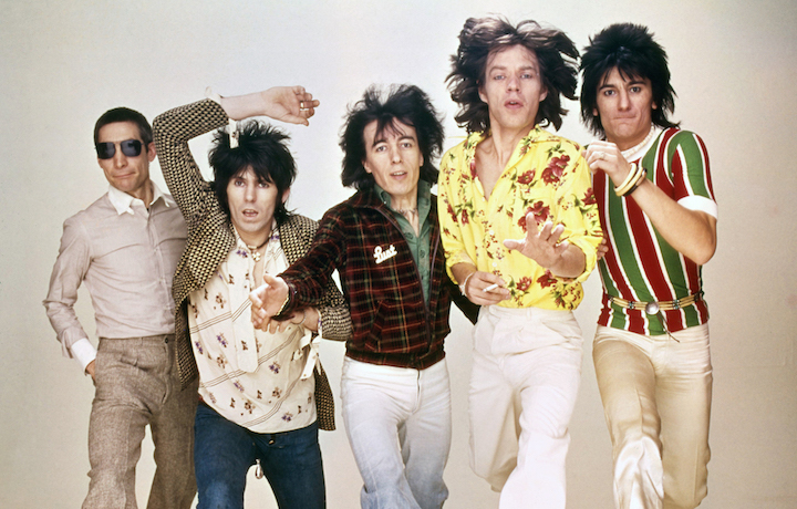 I Rolling Stones nel 1976, foto Rolling Stones Archive/HBO