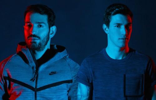 Riccardo Saponara e Alessio Romagnoli. Foto di Niccolò Parsenziani. Abiti Nike Sportwear
