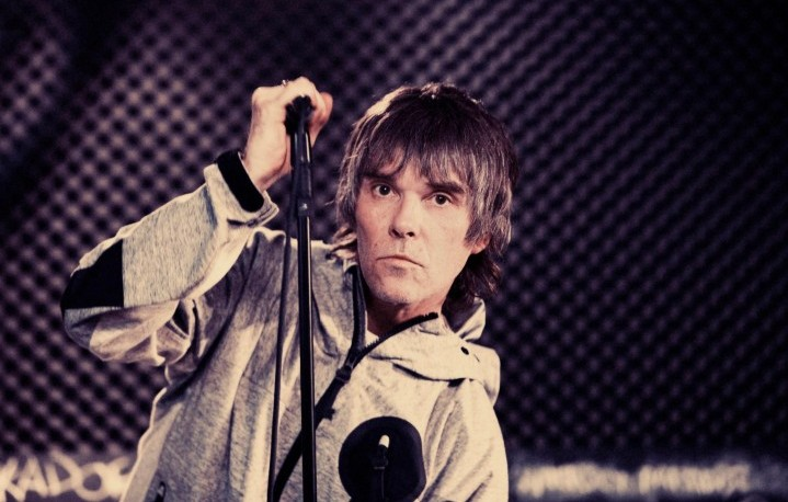 Ian Brown, frontman degli Stone Roses - Foto via Facebook