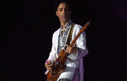 Prince al Coachella nel 2008