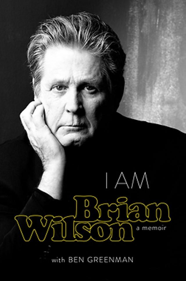 La copertina del libro di Brian Wilson
