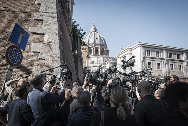 Sanders Vaticano giornalisti