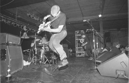 I Fugazi in un live del 1996 ad Atlanta. Foto. Facebook