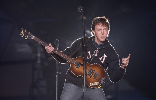 Paul McCartney, foto Facebook