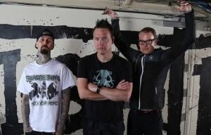 La nuova formazione dei Blink 182