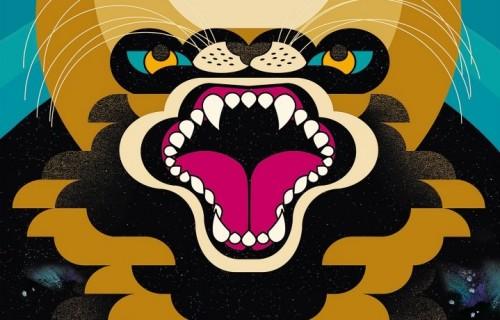 """Un dettaglio della copertina di """"Lunar Love"""", il nuovo disco di Mop Mop uscirà il 6 maggio"""