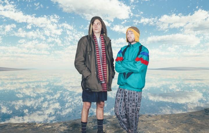 Davide Tomat e Gabriele Ottino, alias Niagara. Foto: Stampa