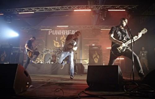 """I Punkreas al Leoncavallo per presentare """"Il lato ruvido"""", uscito il 22 aprile - Foto di Angelo Becci"""