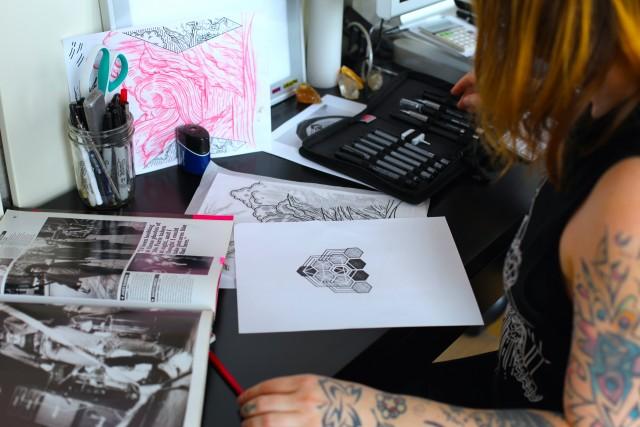 Lisa Orth, dalla Sub Pop ai tattoo - Foto di marco Annunziata