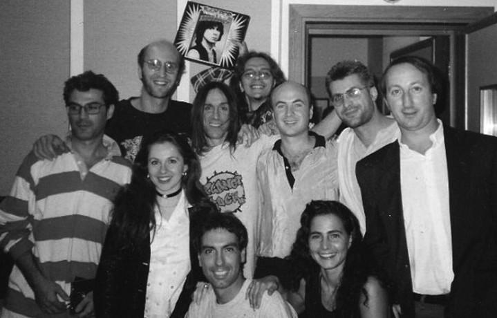 """La crew di """"Planet Rock"""" con Iggy Pop"""