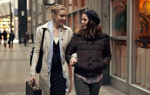 """Un'immagine da """"Mistress America"""", con Greta Gerwig e Lola Kirke"""