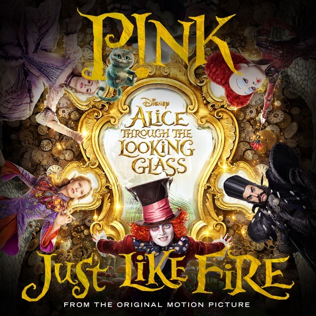 "P!nk, ""Just Like Fire"""