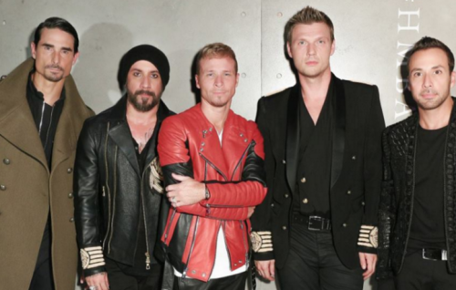 I Backstreet Boys, foto Facebook