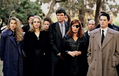 Una parte del cast originale di Twin Peaks