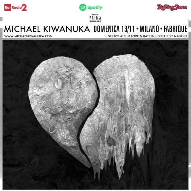 Michael Kiwanuka suonerà a Milano il 13 novembre 2016