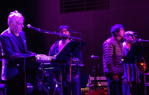 John Cale e gli Animal Collective sul palco della Philharmonie de Paris. Foto: Philharmonie de Paris