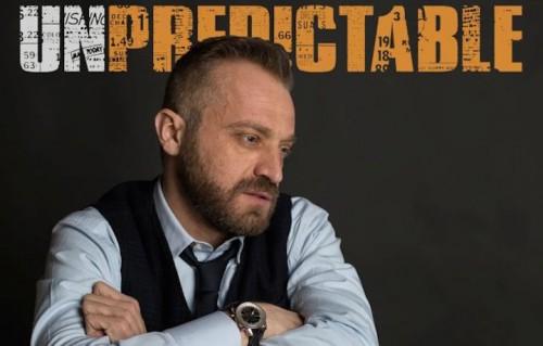 """La copertina dell'album """"Unpredictable"""" di Alberto Bastianelli"""