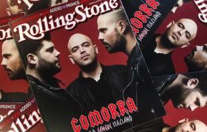 """Esposito – Saviano – D'Amore: gli uomini di """"Gomorra"""" sul nuovo numero di Rolling Stone"""