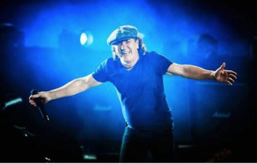 Brian Johnson, 36 anni negli AC/DC