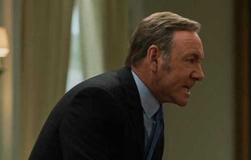 """il protagonista di """"House of Cards"""" era ospite alla conferenza di Netflix a Parigi"""