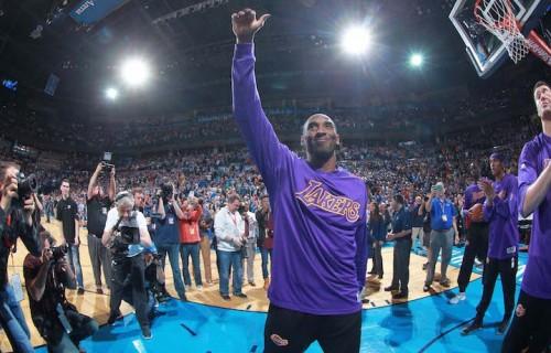Un tour di addio arrivatp all'ultima tappa. Foto: Layne Murdoch/NBAE via Getty Images