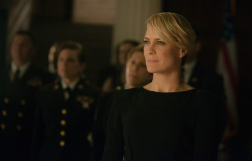 "Robin Wright è in tv con la quarta stagione di ""House of Cards"". Foto: Nathaniel Bell for Netflix"
