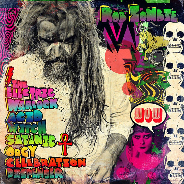 The Electric Warlock Acid Witch Satanic Orgy Celebration Dispenser - Rob Zombie