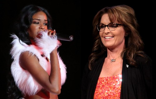 Azealia Banks VS Sarah Palin