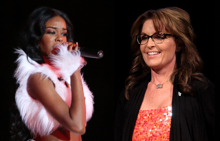 Azealia Banks VS Sarah Palin
