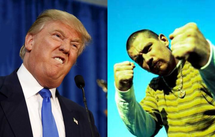 Donald Trump vs Everlast