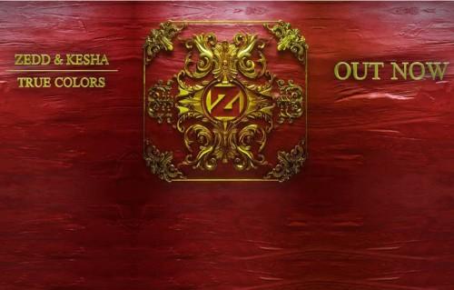 """""""True Colors"""" è il nuovo singolo di Zedd e Kesha"""