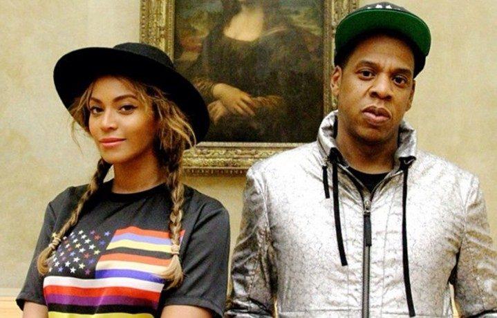 Beyoncé e Jay Z a Parigi