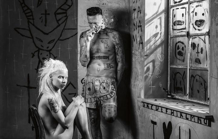 I Die Antwoord, ovvero ¥o-landi Vi$$er e Ninja. Foto: Amanda Demme