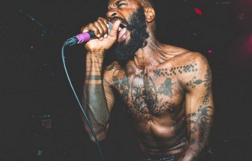 MC Ride dei Death Grips. Foto: Facebook