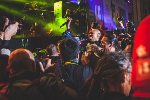 Max Gazzè, Skunk Anansie, Tiromancino, Salmo, Nina Zilli, Calexico, Capossela, Vinicio Capossela, Gary Dourdan, The Giornalisti, Primo Maggio, Roma, Piazza San Giovanni, 2016
