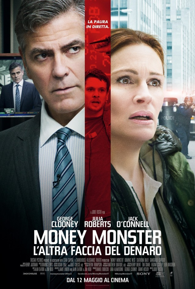 La locandina di Money Monster