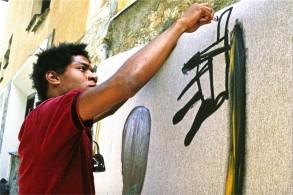 Le foto di Lee Jaffe a Basquiat in mostra a Bologna