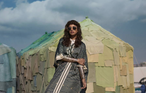 "M.I.A. è la testimonial della ""World Recycle Week"" di H&M"